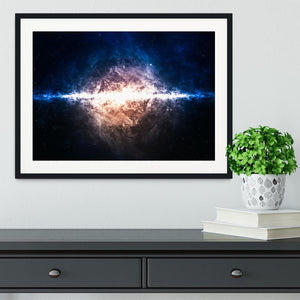 Star field in deep space Framed Print - Canvas Art Rocks - 1