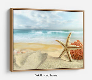 Starfish Floating Frame Canvas - Canvas Art Rocks - 9