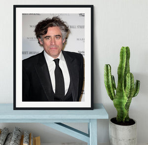 Stephen Mangan Framed Print - Canvas Art Rocks - 1