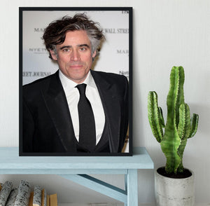 Stephen Mangan Framed Print - Canvas Art Rocks - 2