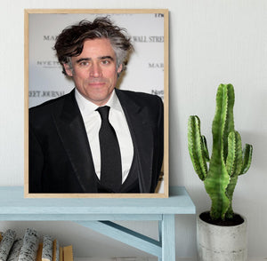 Stephen Mangan Framed Print - Canvas Art Rocks - 4