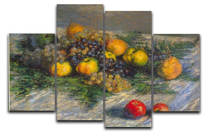 Still Life by Monet 4 Split Panel Canvas  - Canvas Art Rocks - 1