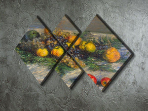 Still Life by Monet 4 Square Multi Panel Canvas - Canvas Art Rocks - 2