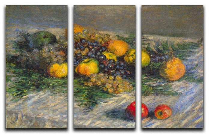 Still Life by Monet Split Panel Canvas Print