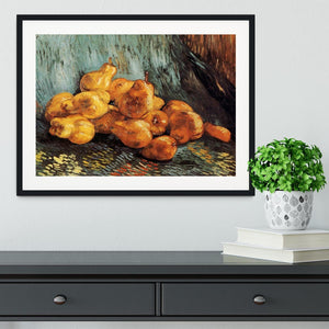 Still Life with Pears by Van Gogh Framed Print - Canvas Art Rocks - 1