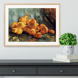 Still Life with Pears by Van Gogh Framed Print - Canvas Art Rocks - 3