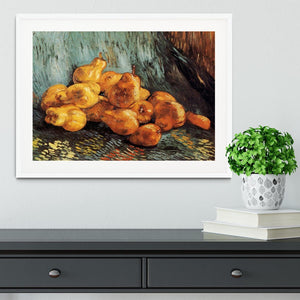 Still Life with Pears by Van Gogh Framed Print - Canvas Art Rocks - 5