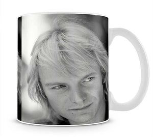Sting in profile Mug - Canvas Art Rocks - 1