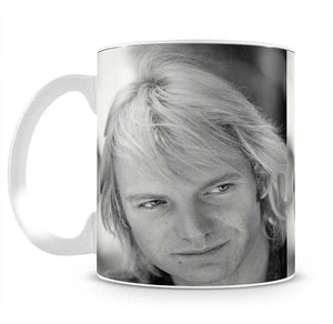 Sting in profile Mug - Canvas Art Rocks - 2