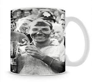 Stirling Moss and his Vanwall team mate Tony Brooks Mug - Canvas Art Rocks - 1