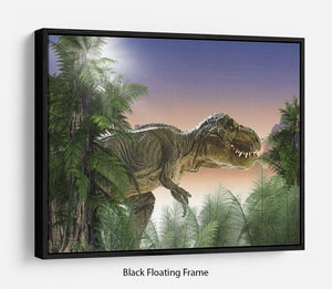 Stock Photo dinosaur Floating Frame Canvas