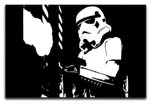 Stormtropper Canvas Print or Poster  - Canvas Art Rocks - 1