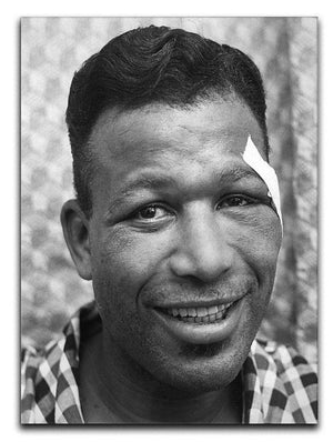 Sugar Ray Robinson Boxer Canvas Print or Poster  - Canvas Art Rocks - 1