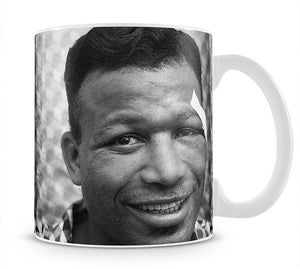 Sugar Ray Robinson Boxer Mug - Canvas Art Rocks - 1