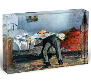 Suicide by Manet Acrylic Block - Canvas Art Rocks - 1