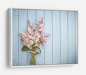 Summer gentle bouquet of lilac flowers HD Metal Print