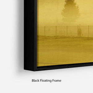 Sunrise and Mist Floating Frame Canvas - Canvas Art Rocks - 2