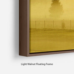 Sunrise and Mist Floating Frame Canvas - Canvas Art Rocks - 8
