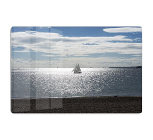 Sunshine on the sea HD Metal Print - Canvas Art Rocks - 1