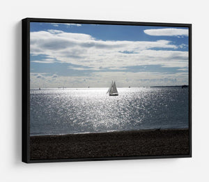 Sunshine on the sea HD Metal Print - Canvas Art Rocks - 6