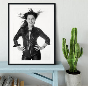 Suzi Quatro Framed Print - Canvas Art Rocks - 1