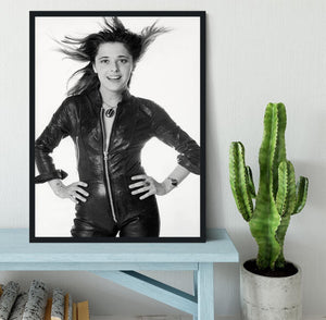 Suzi Quatro Framed Print - Canvas Art Rocks - 2