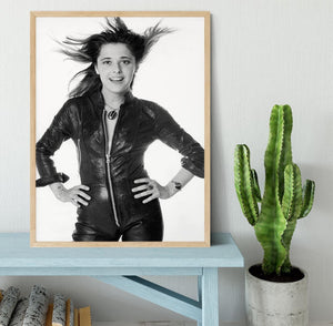 Suzi Quatro Framed Print - Canvas Art Rocks - 4