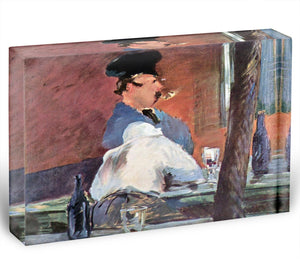 Tavern by Manet Acrylic Block - Canvas Art Rocks - 1