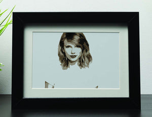 Taylor Swift Framed Print - Canvas Art Rocks - 1