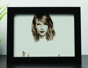 Taylor Swift Framed Print - Canvas Art Rocks - 2