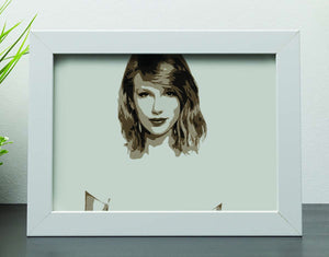 Taylor Swift Framed Print - Canvas Art Rocks - 4