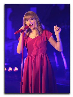 Taylor Swift on stage Canvas Print or Poster  - Canvas Art Rocks - 1