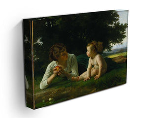 Temptation By Bouguereau Canvas Print or Poster - Canvas Art Rocks - 3