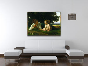 Temptation By Bouguereau Canvas Print or Poster - Canvas Art Rocks - 4
