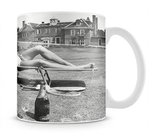 Tennis Player Virginia Wade Mug - Canvas Art Rocks - 1