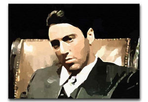 The Godfather Michael Corleone Print - Canvas Art Rocks - 1