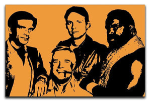 The A Team Pop Art Canvas Print or Poster  - Canvas Art Rocks - 1
