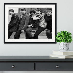 The Animals in Londn Framed Print - Canvas Art Rocks - 1