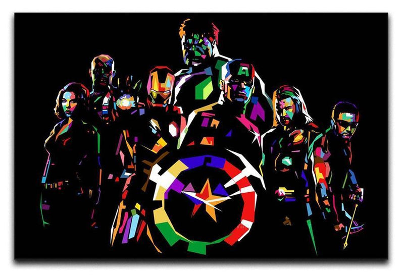The Avengers Pop Art Canvas Print or Poster  - Canvas Art Rocks - 1