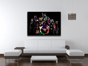 The Avengers Pop Art Canvas Print or Poster - Canvas Art Rocks - 4