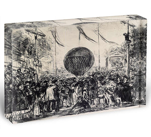 The Balloon by Manet Acrylic Block - Canvas Art Rocks - 1
