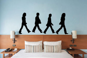 The Beatles Abbey Road Wall Sticker - Canvas Art Rocks