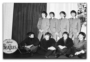 The Beatles at Madame Tussauds Canvas Print or Poster  - Canvas Art Rocks - 1