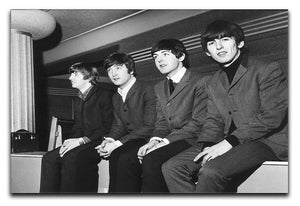 The Beatles backstage in Edinburgh Canvas Print or Poster  - Canvas Art Rocks - 1