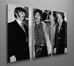 The Beatles in 1967 3 Split Panel Canvas Print - Canvas Art Rocks - 2