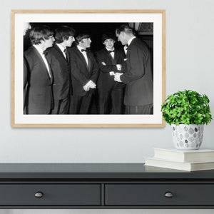 The Beatles meet Prince Philip Framed Print - Canvas Art Rocks - 3