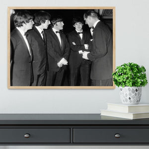 The Beatles meet Prince Philip Framed Print - Canvas Art Rocks - 4