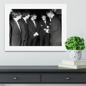 The Beatles meet Prince Philip Framed Print - Canvas Art Rocks - 5