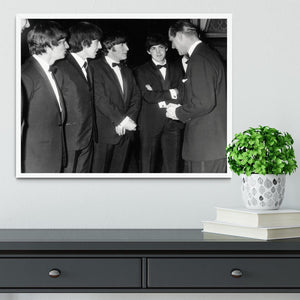 The Beatles meet Prince Philip Framed Print - Canvas Art Rocks -6