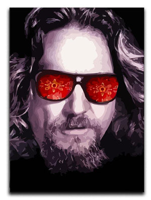 The Big Lebowski Print - Canvas Art Rocks - 1